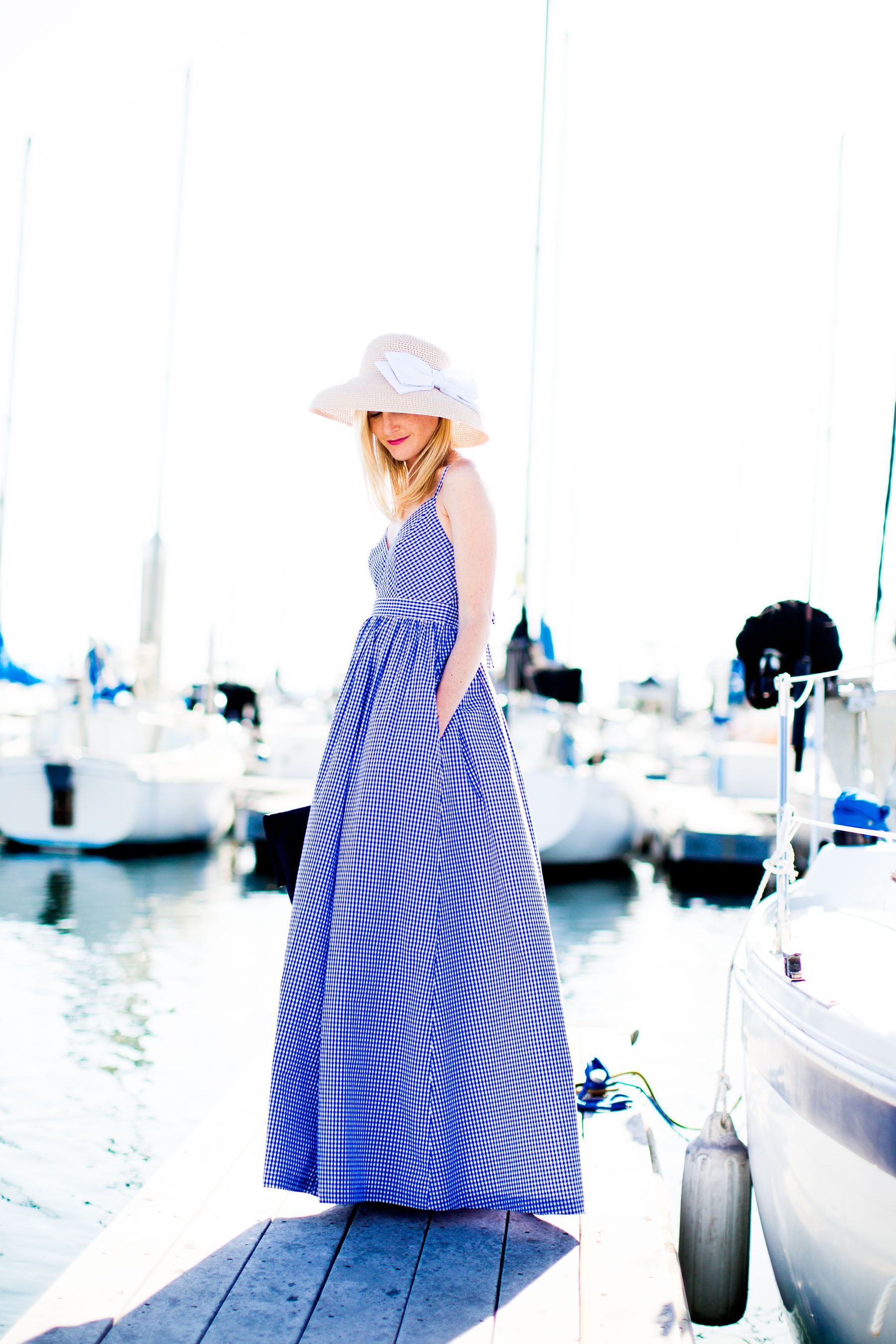 Great Shop The Post Jcrew Gingham Maxi Dress With Where Can I Try On J Crew Wedding Dresses