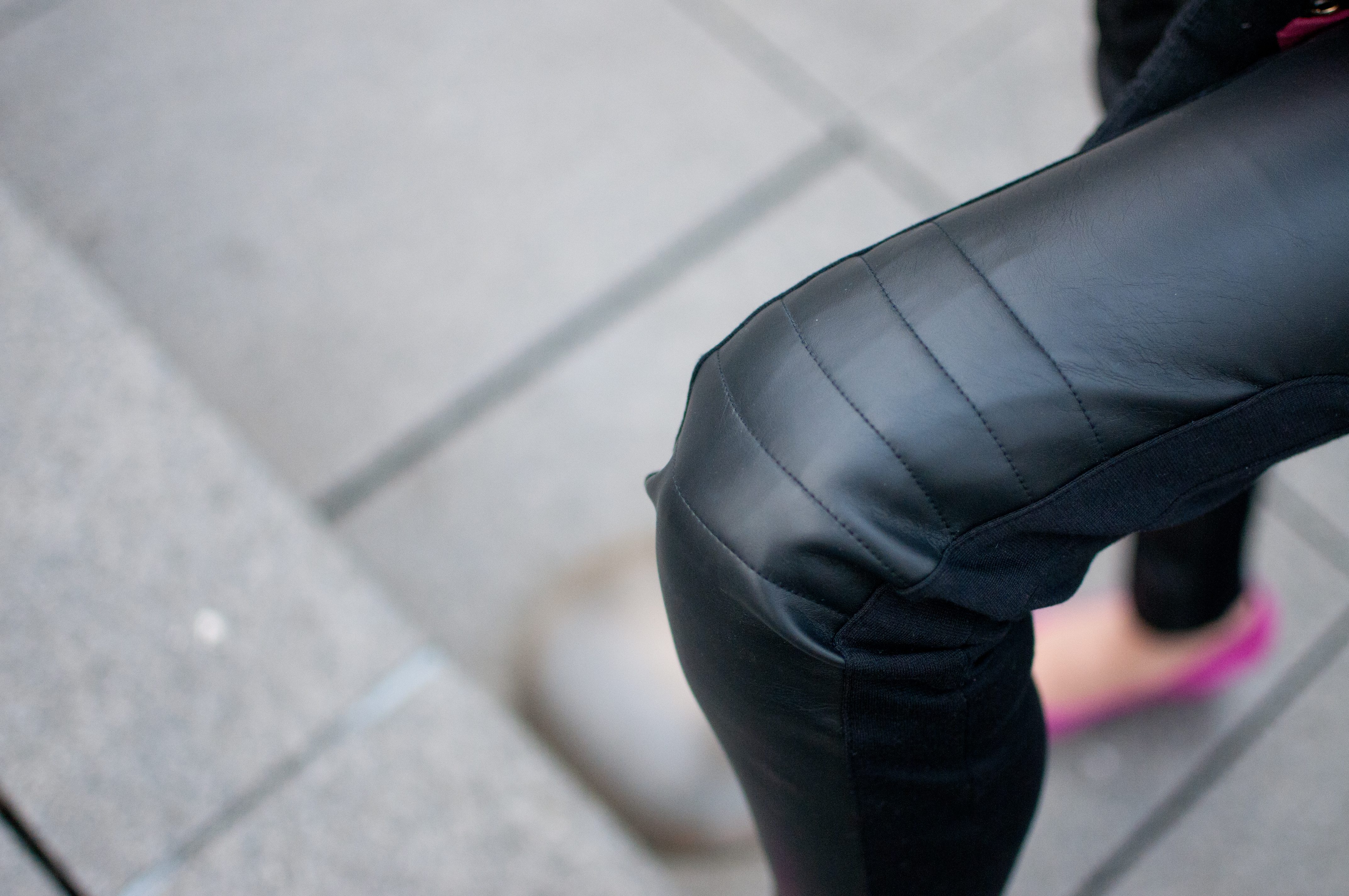 Dex Piperlime Leather Leggings