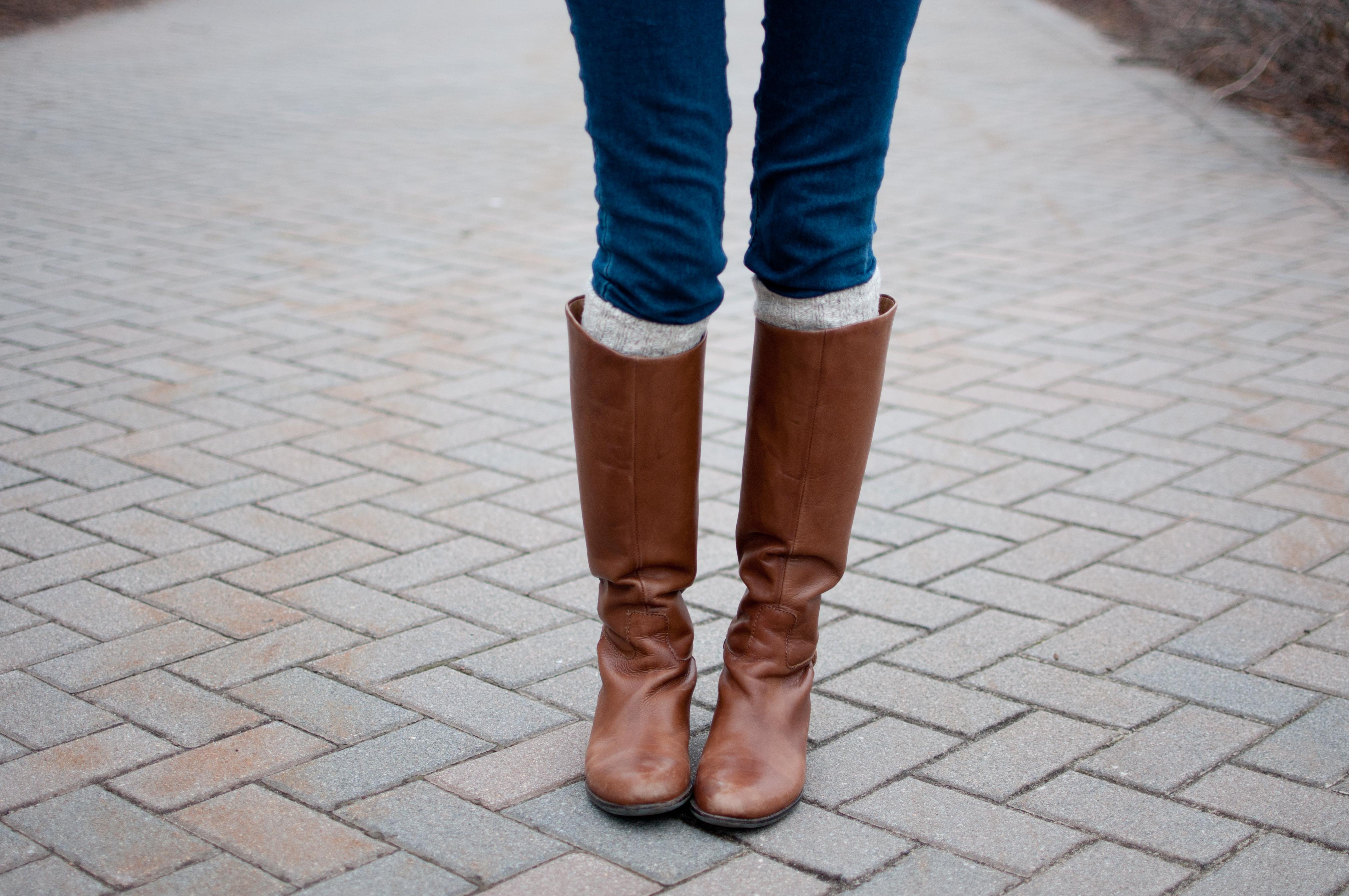 Franco Sarto Boots www.kellyinthecity.com
