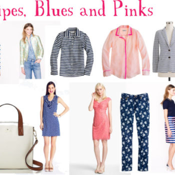 Favorite Picks: J.Crew Final Sale (and a little Kate/Lilly, too.)