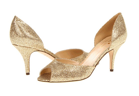 Call for Help: Finding the Perfect Pair of Gold/Platinum Peep-Toe ...