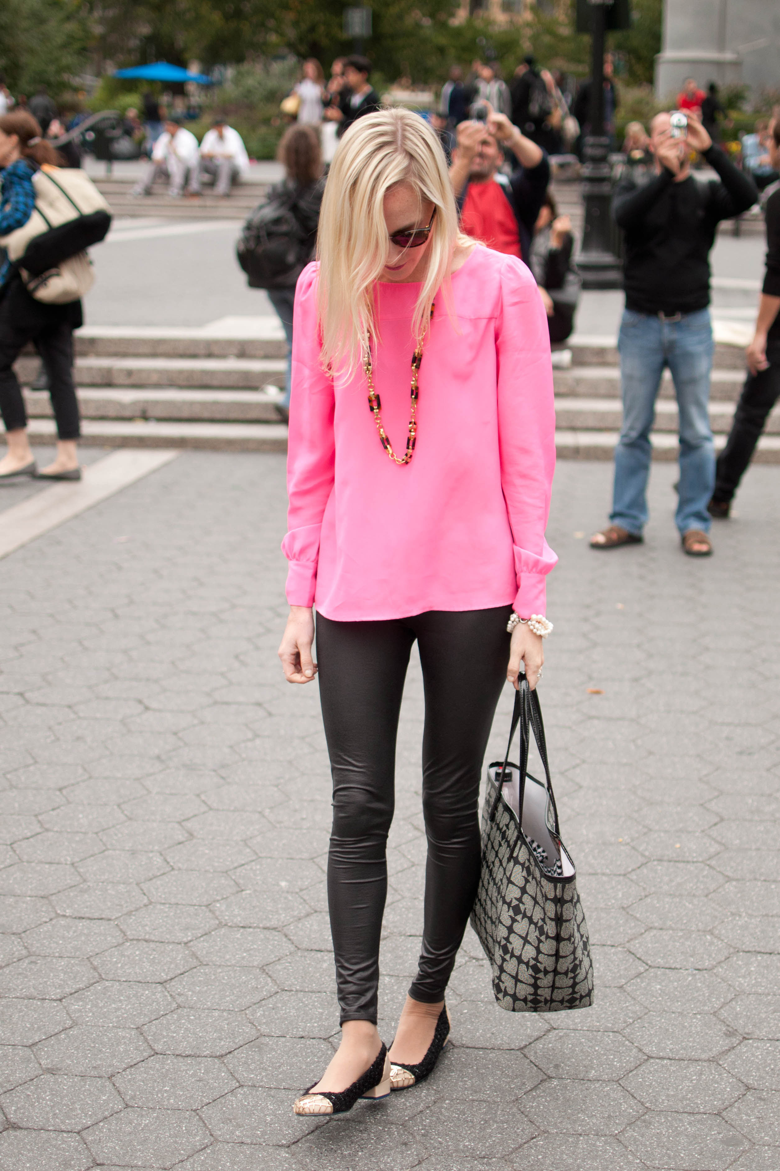 Fall Weekends in Manhattan: Comfy Tweed Flats and Faux ...