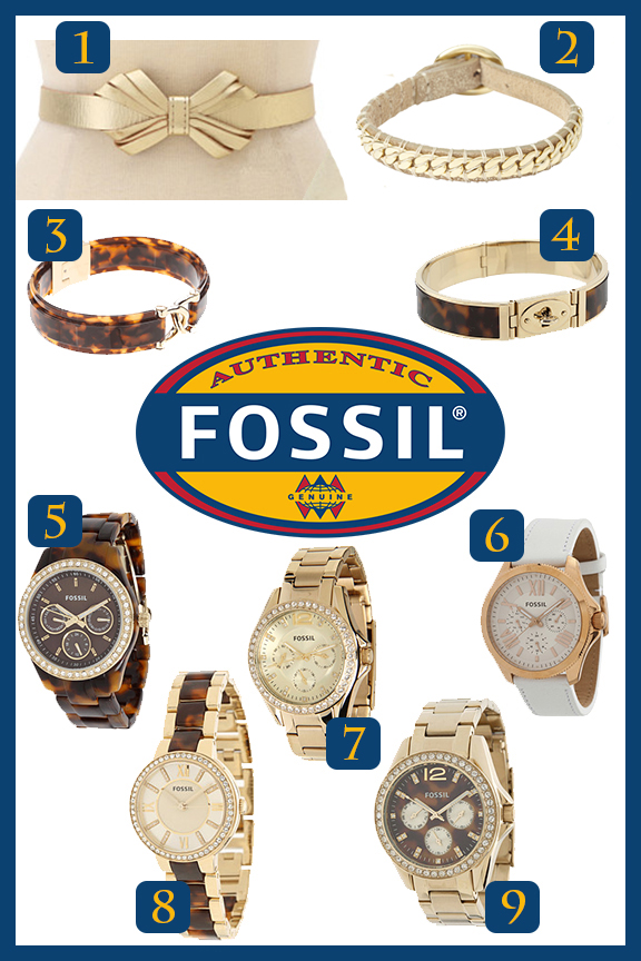 Refresh Your Jewelry Box Fossil and a few bags and belts too