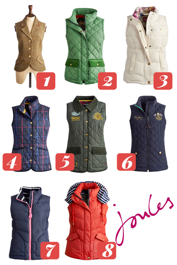 Joules Vests Brown Boots And Oxford Shirts In The City Kelly In