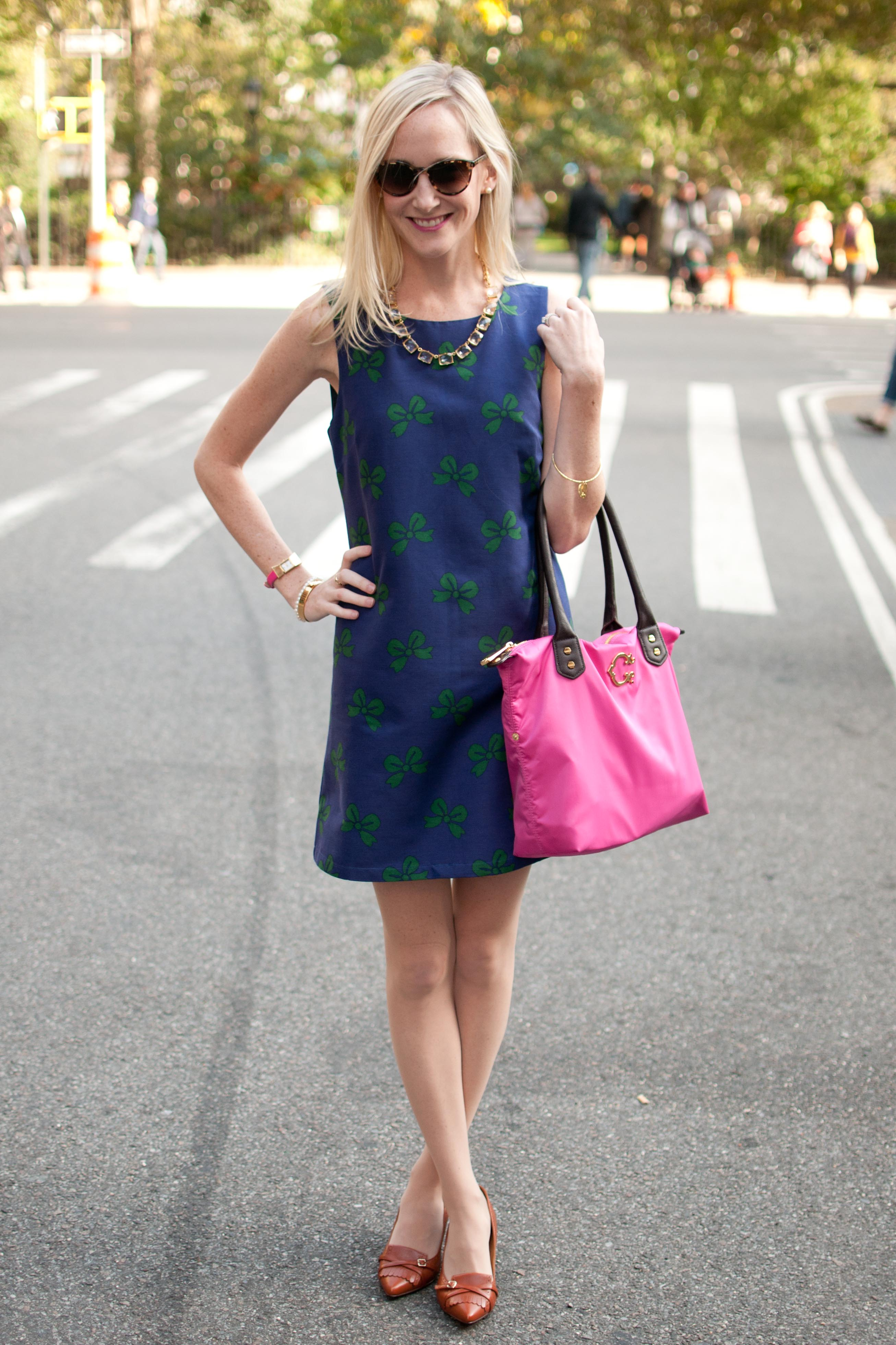 Sundays in Madison Square Park, NYC: Julie Brown Bow Dresses & Pops ...