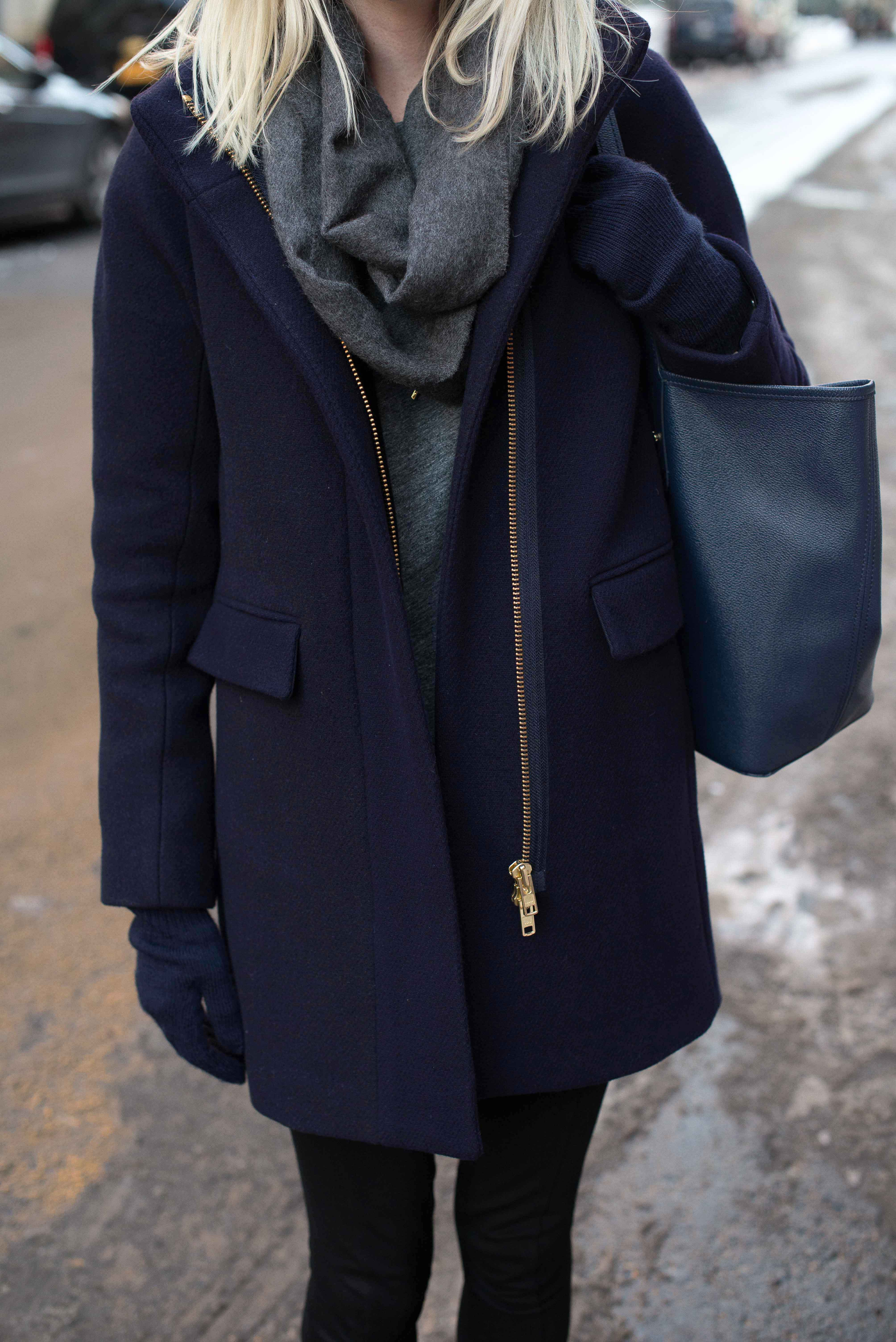 ask kelly winter coats shoes for nyc and a time management #0: jcrew cocoon coat navy 1