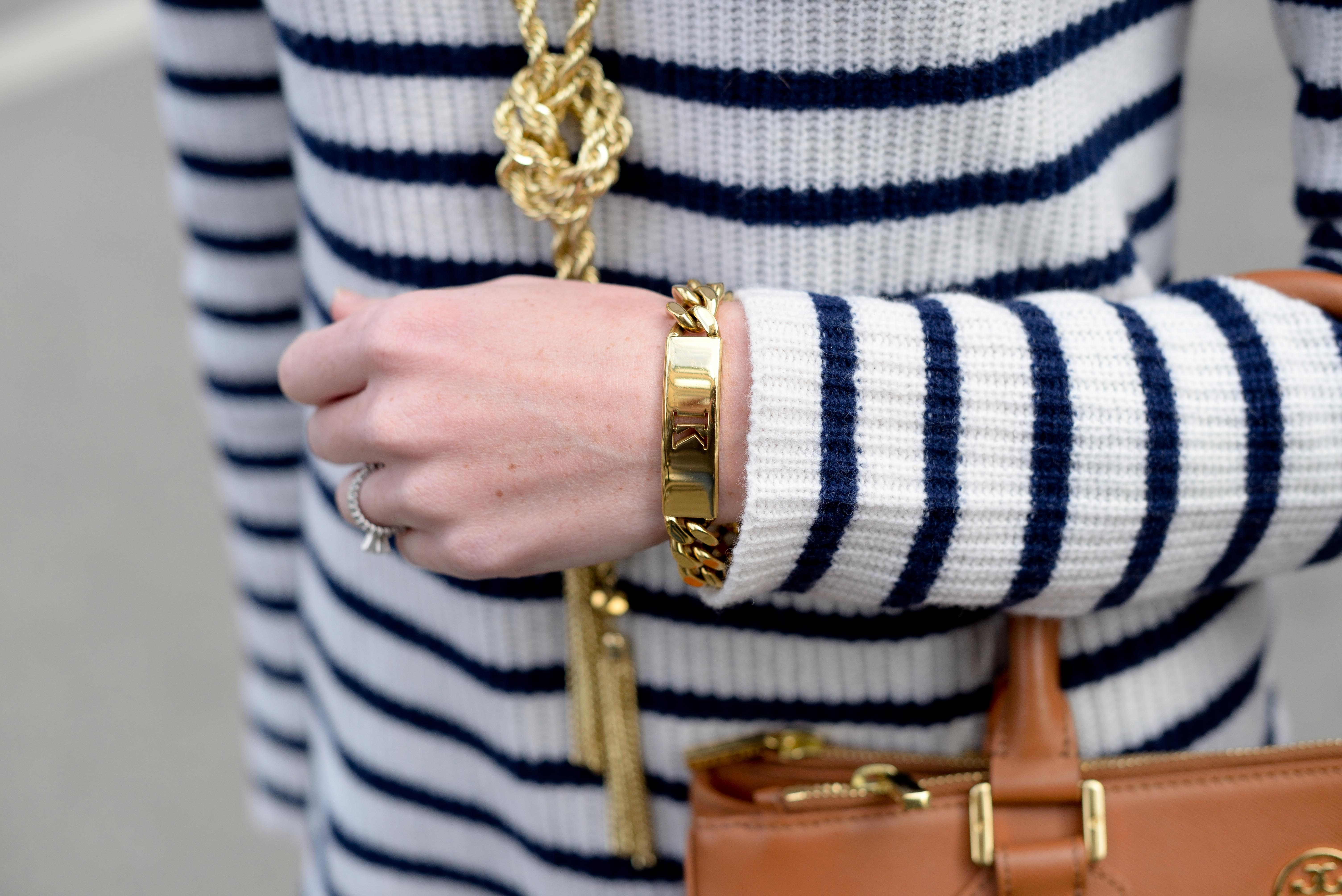 madewell striped elbow patch sweater-14