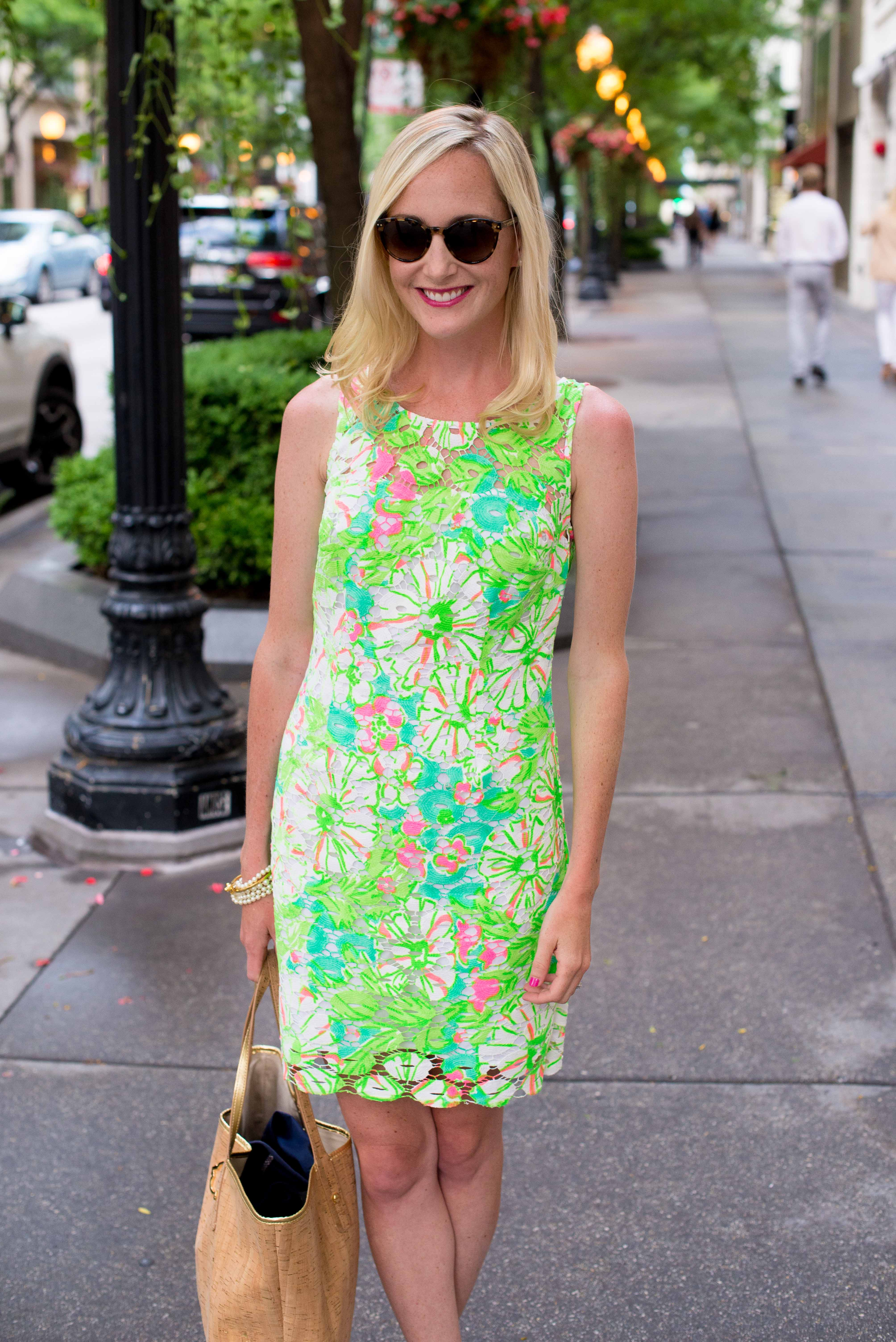 Lilly Pulitzer Neon Shiloh Dress-10