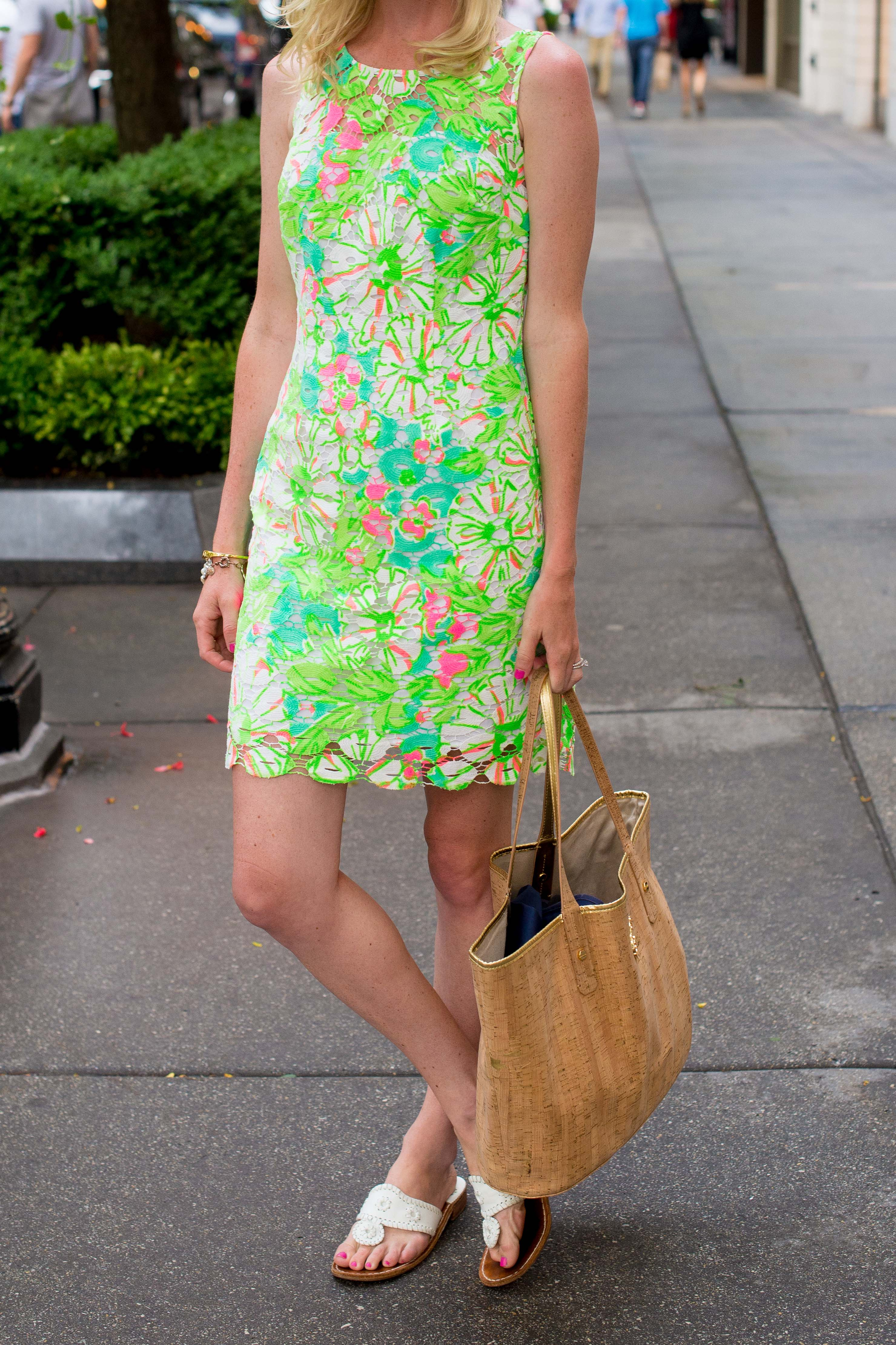 Lilly Pulitzer Neon Shiloh Dress-5