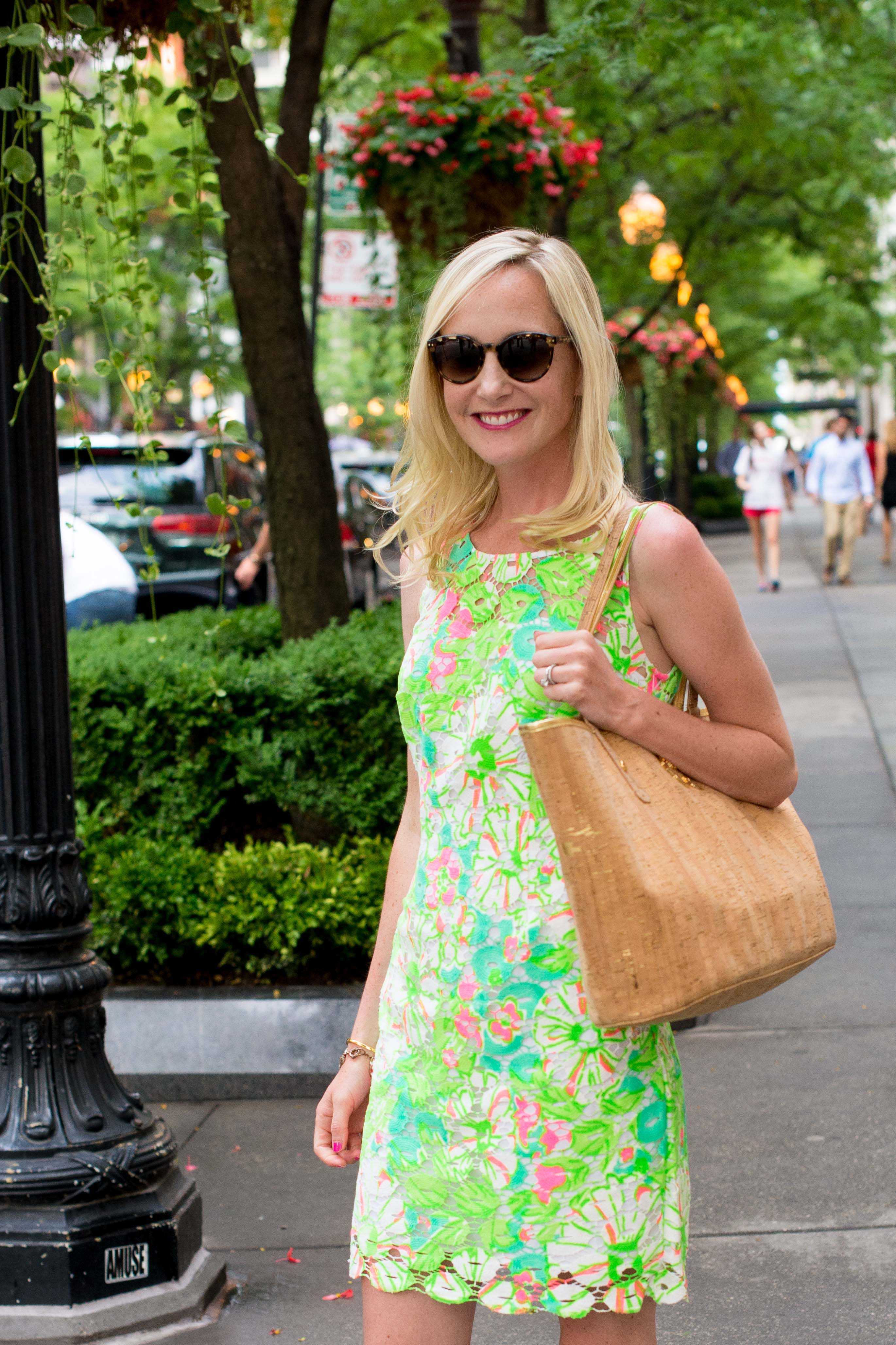 Lilly Pulitzer Neon Shiloh Dress-6