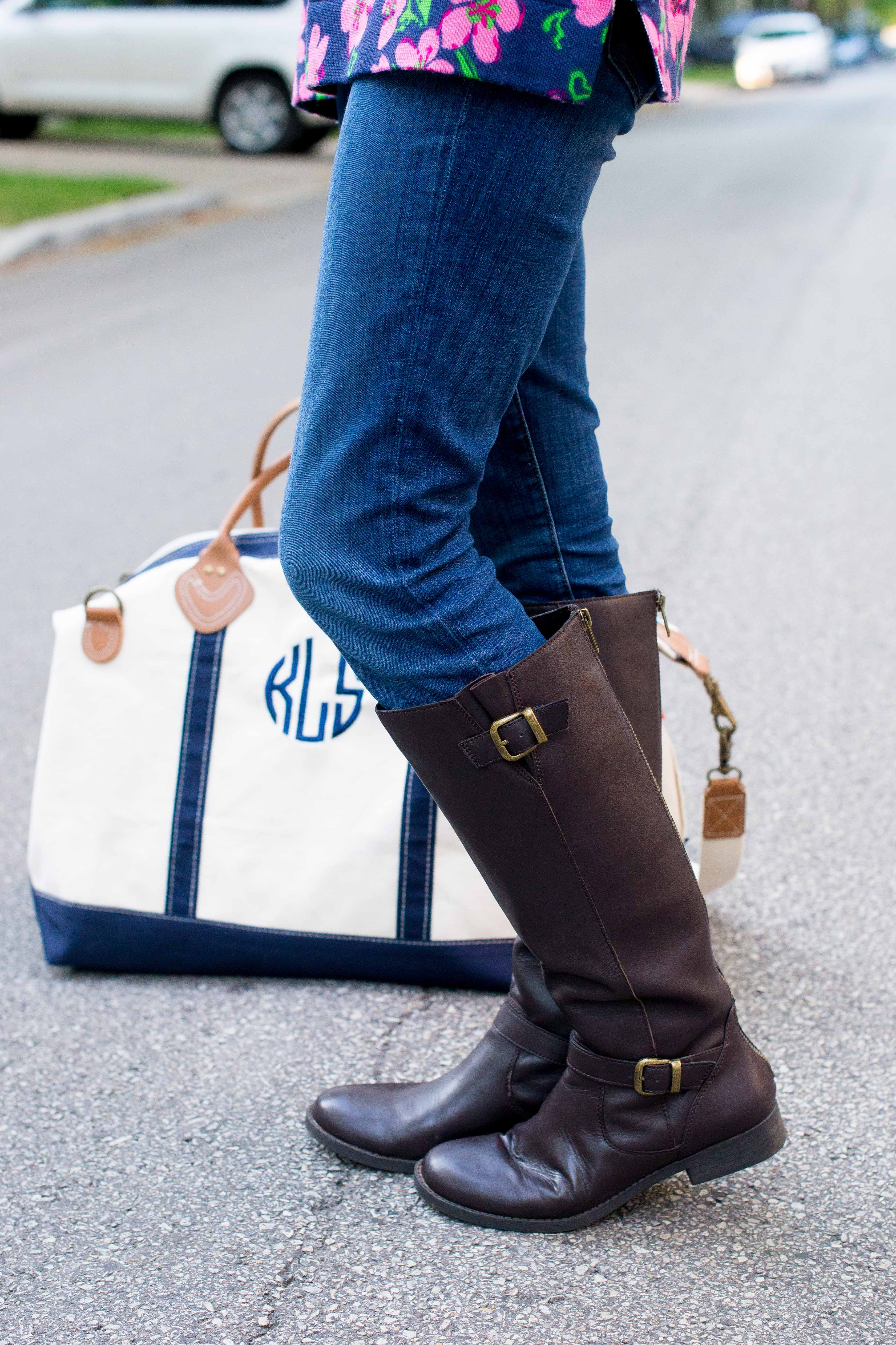 Monogrammed Duffle Bag-32