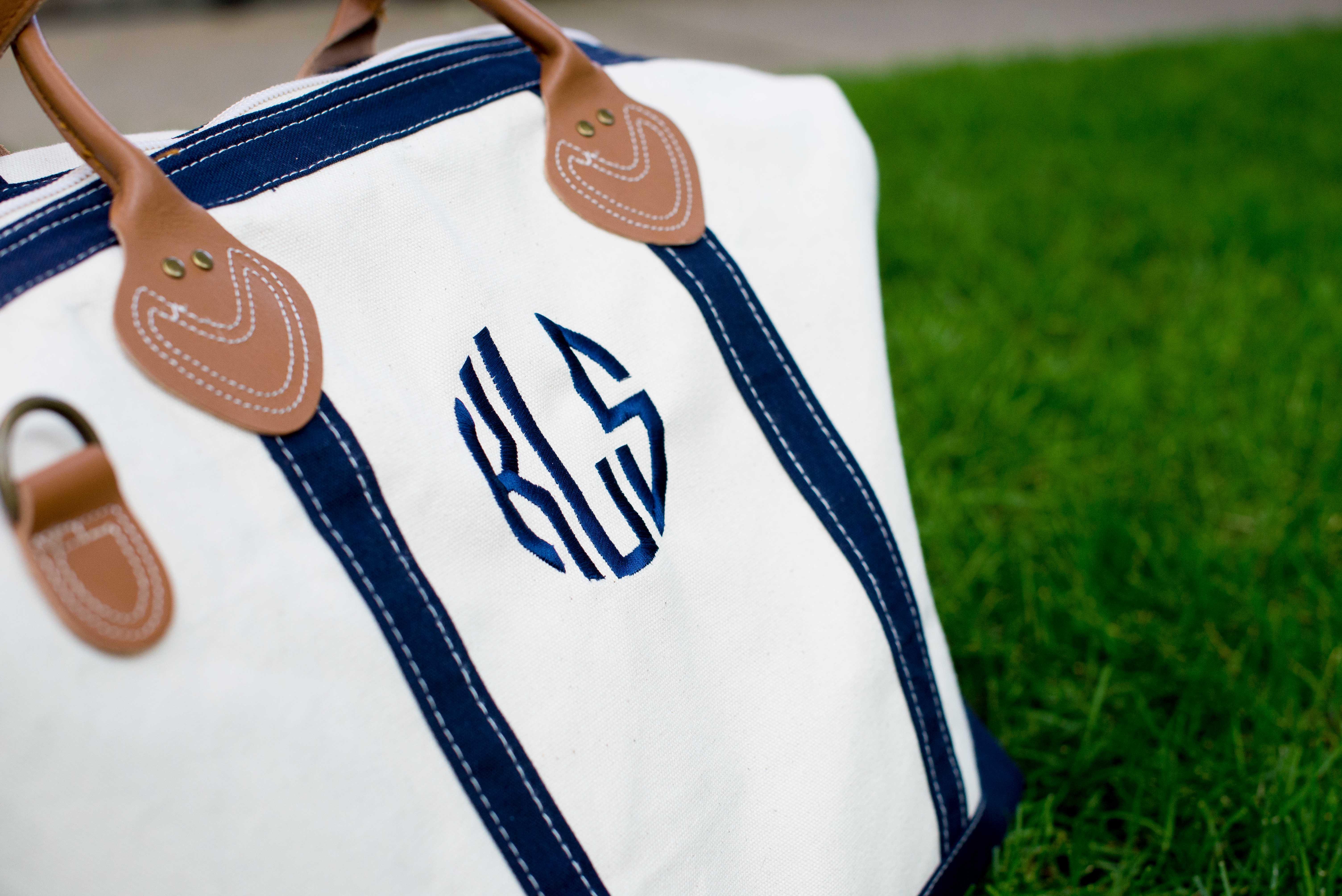 Monogrammed Duffle Bag-41