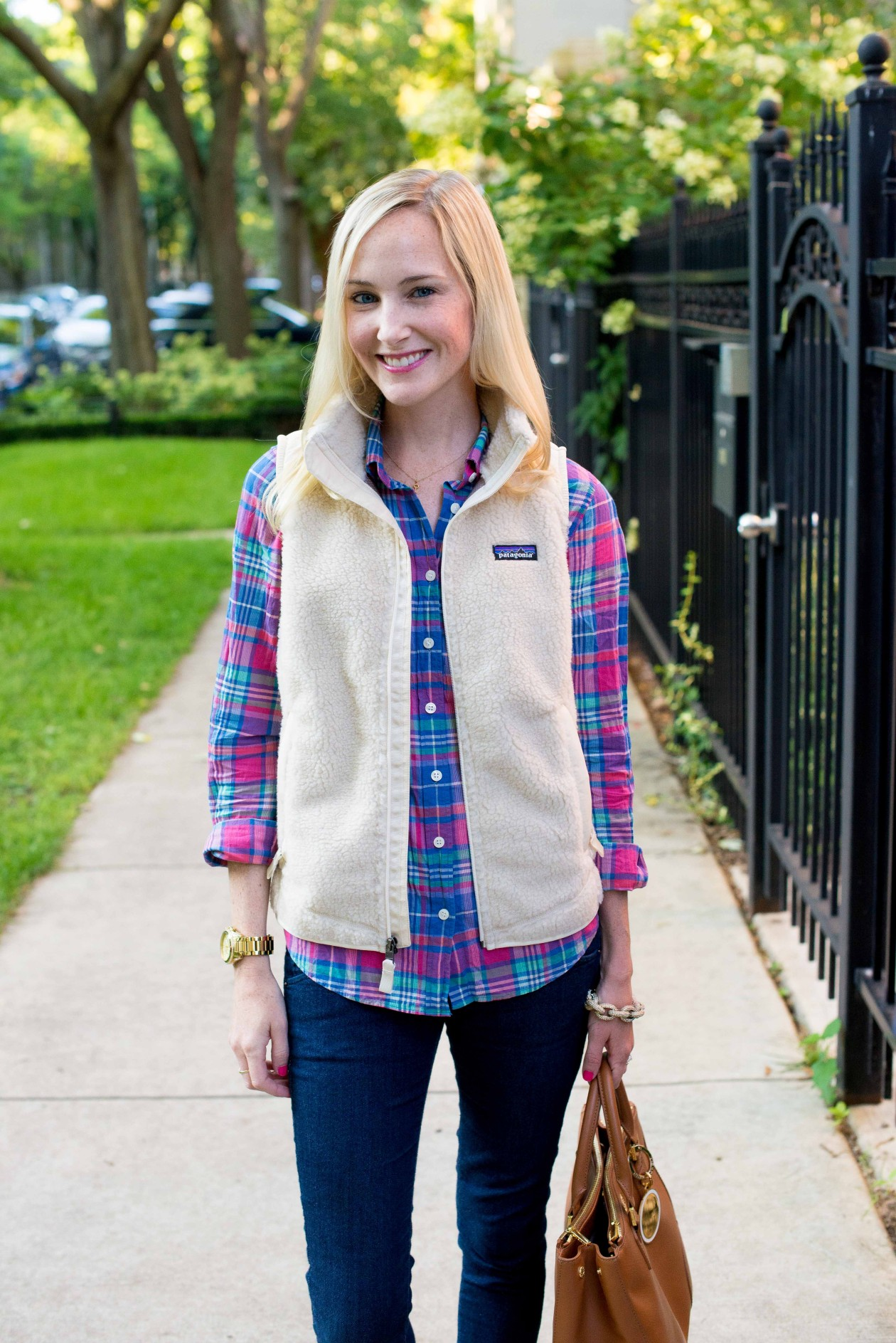 Preppy Vests Kelly In The City