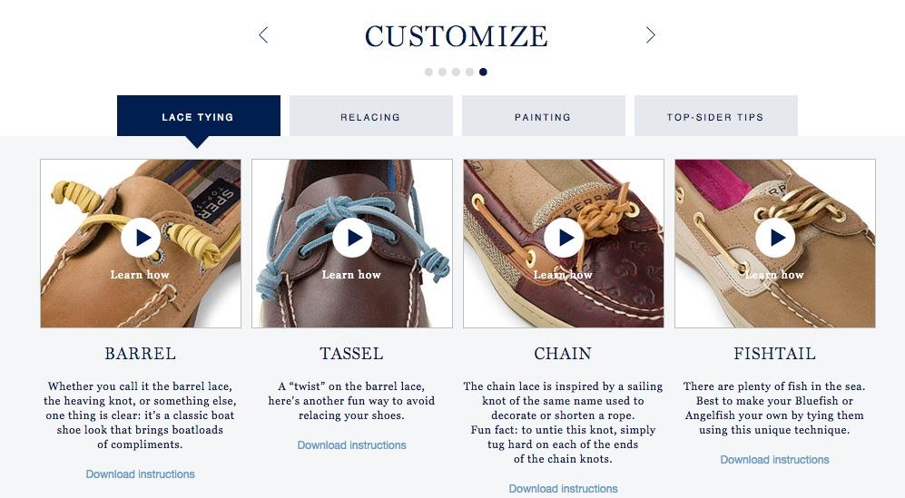 Designer Shoe Warehouse Website