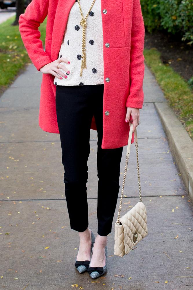 Asos New Look Collarless Wool Coat-100