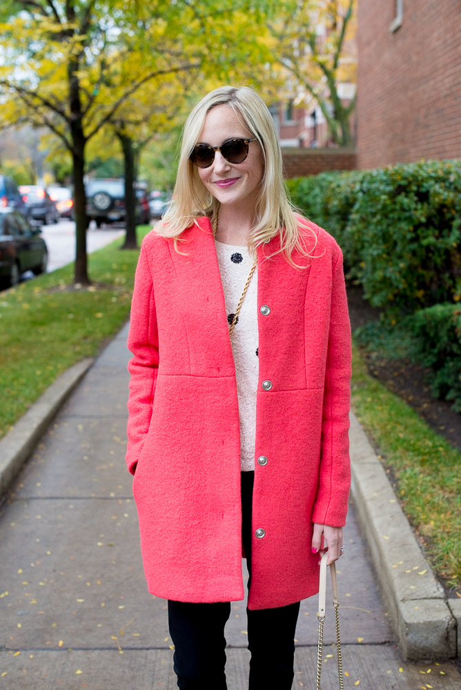 Asos Collarless Coats - Kelly in the City