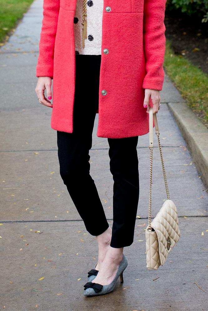 Asos New Look Collarless Wool Coat-2