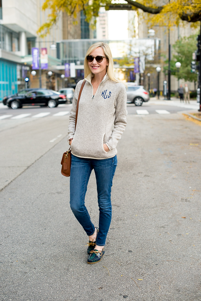 The Lazy Daisy Monogrammed Pullover Giveaway Kelly In
