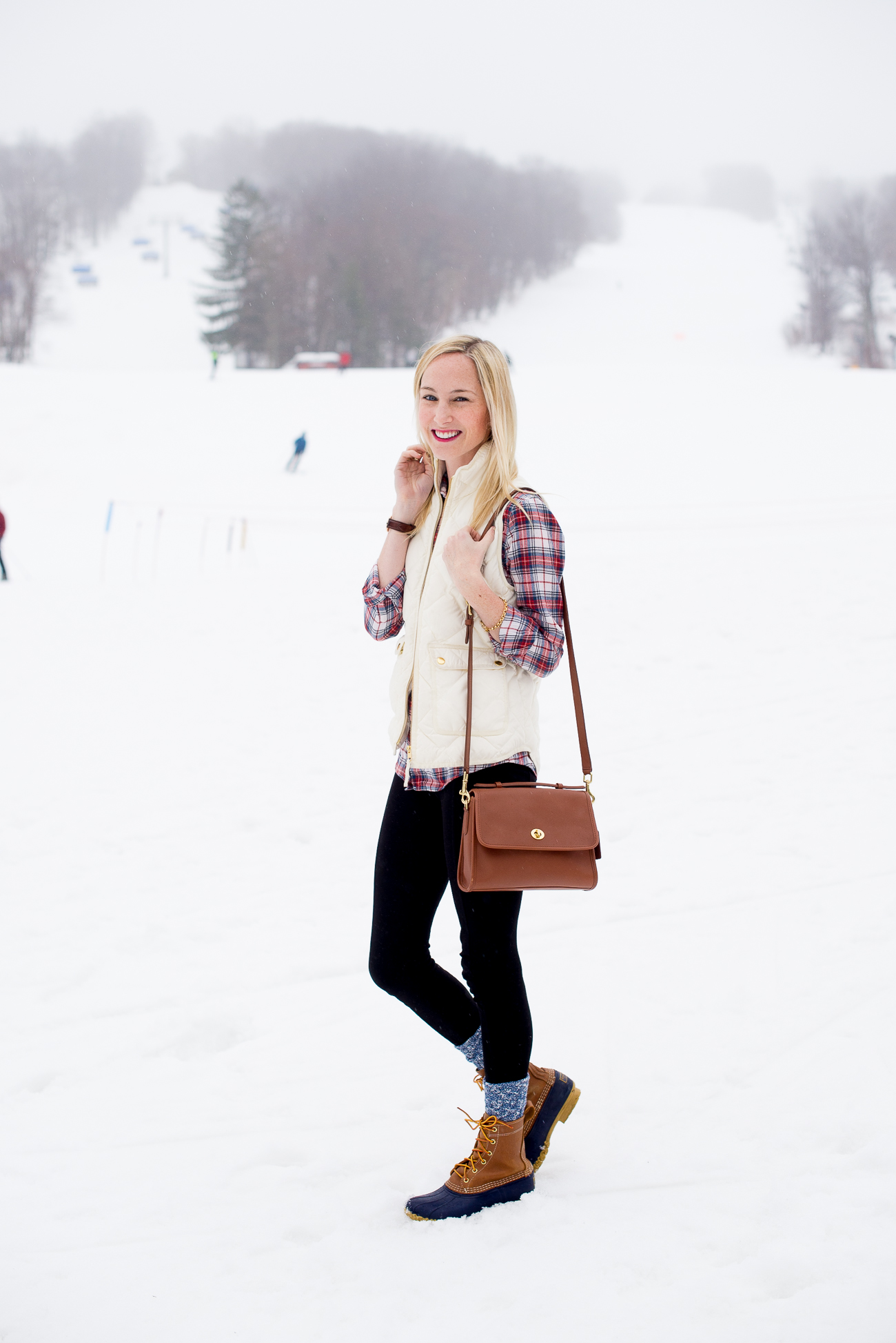 J.Crew Excursion Vest LL Bean Boots-16