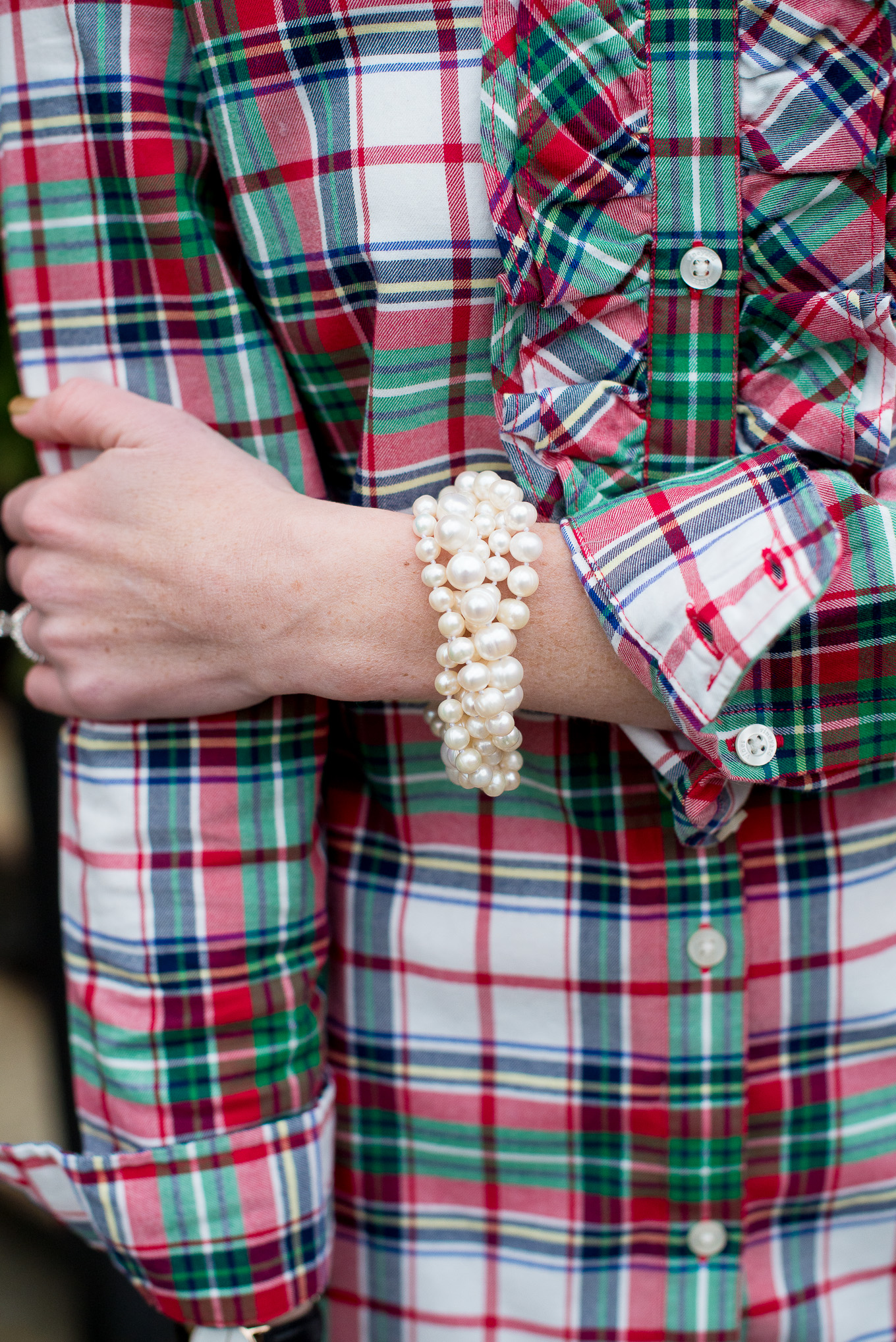 f59c564ee3ac3 Christmas Plaid Womens Shirt