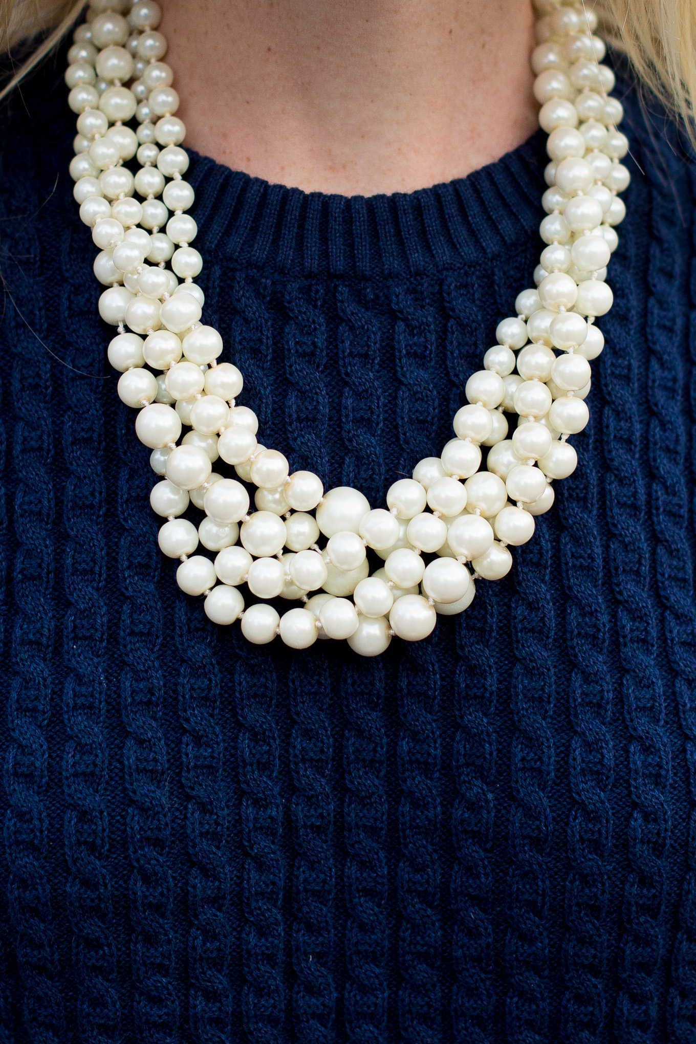 J.Crew Pearl Twisted Hammock Necklace-23