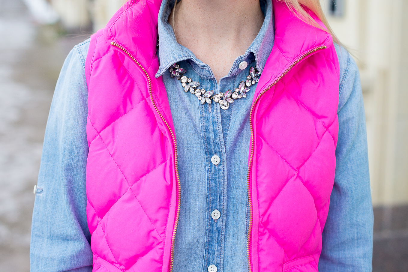 J.Crew Pink Excursion Vest-26