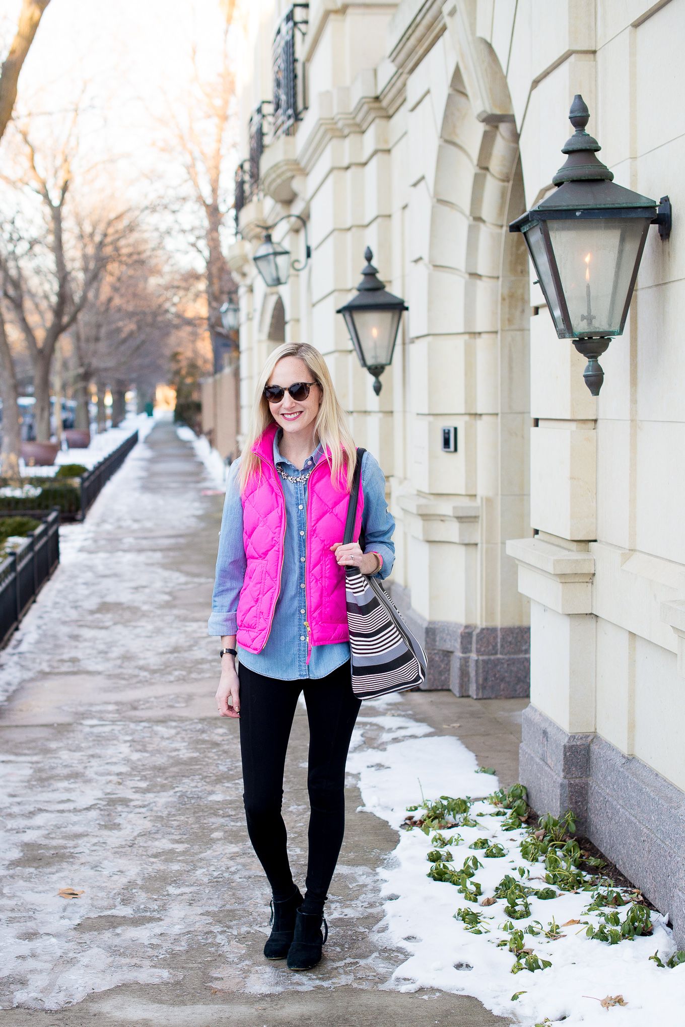 J.Crew Pink Excursion Vest-3
