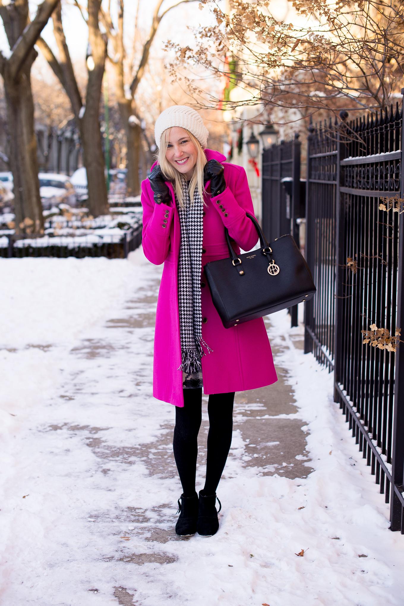 J.Crew Pink Wool Coat-46