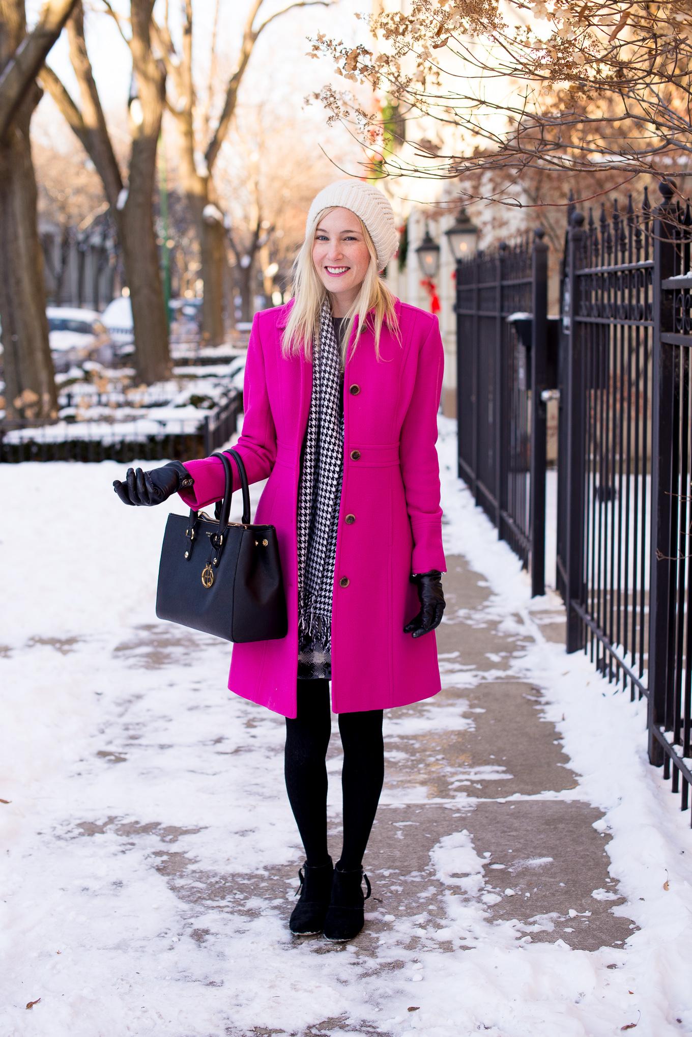 J.Crew Pink Wool Coat-9