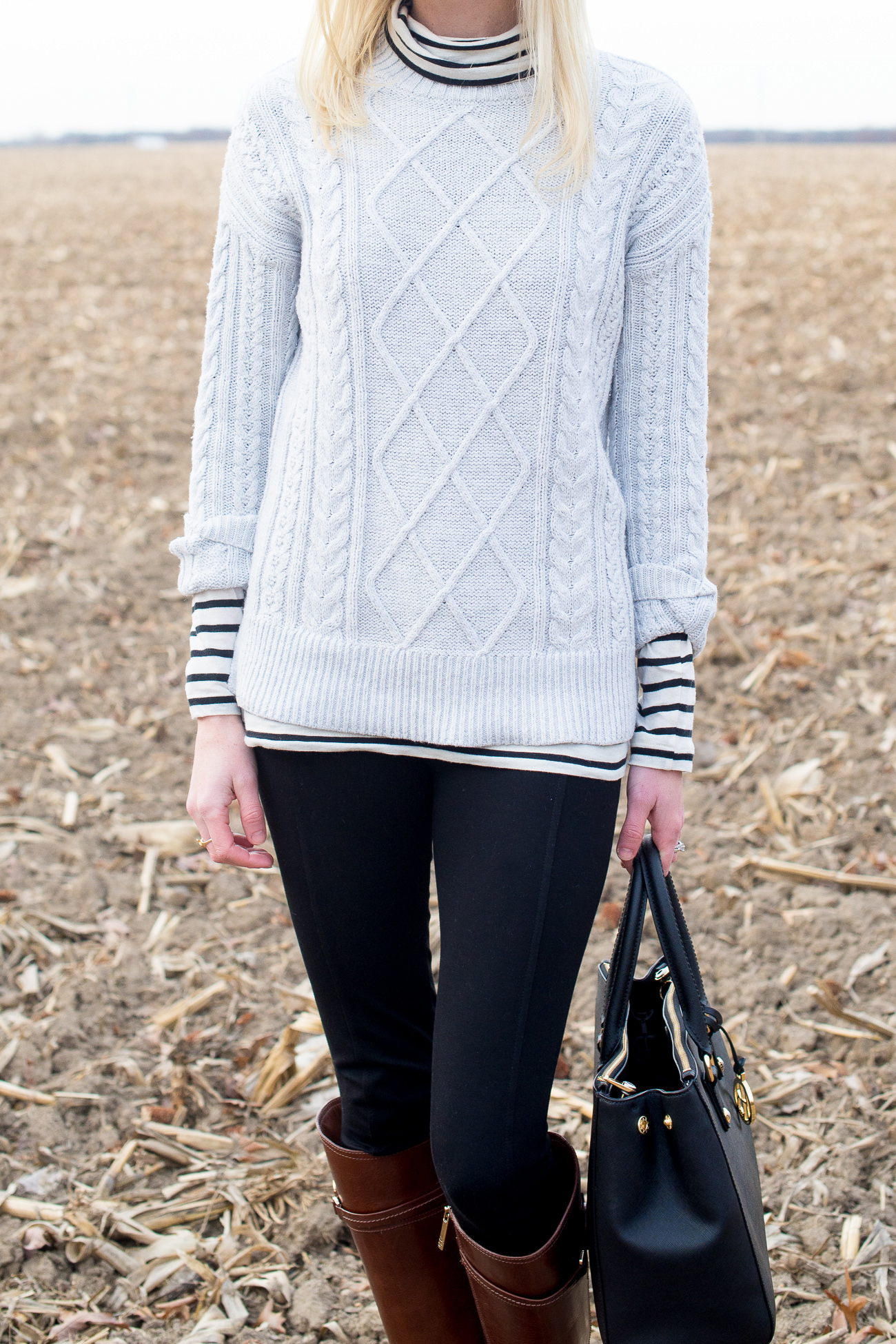 J.Crew Striped Turtleneck Cornfield-16