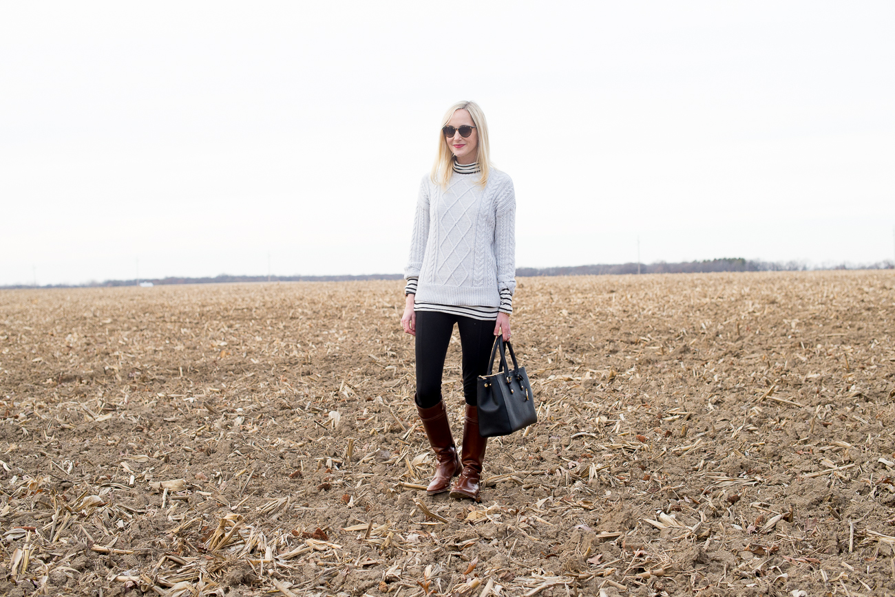 J.Crew Striped Turtleneck Cornfield-30