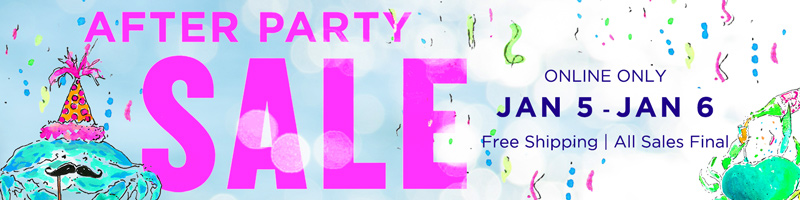 Lilly Pulitzer After Party Sale January