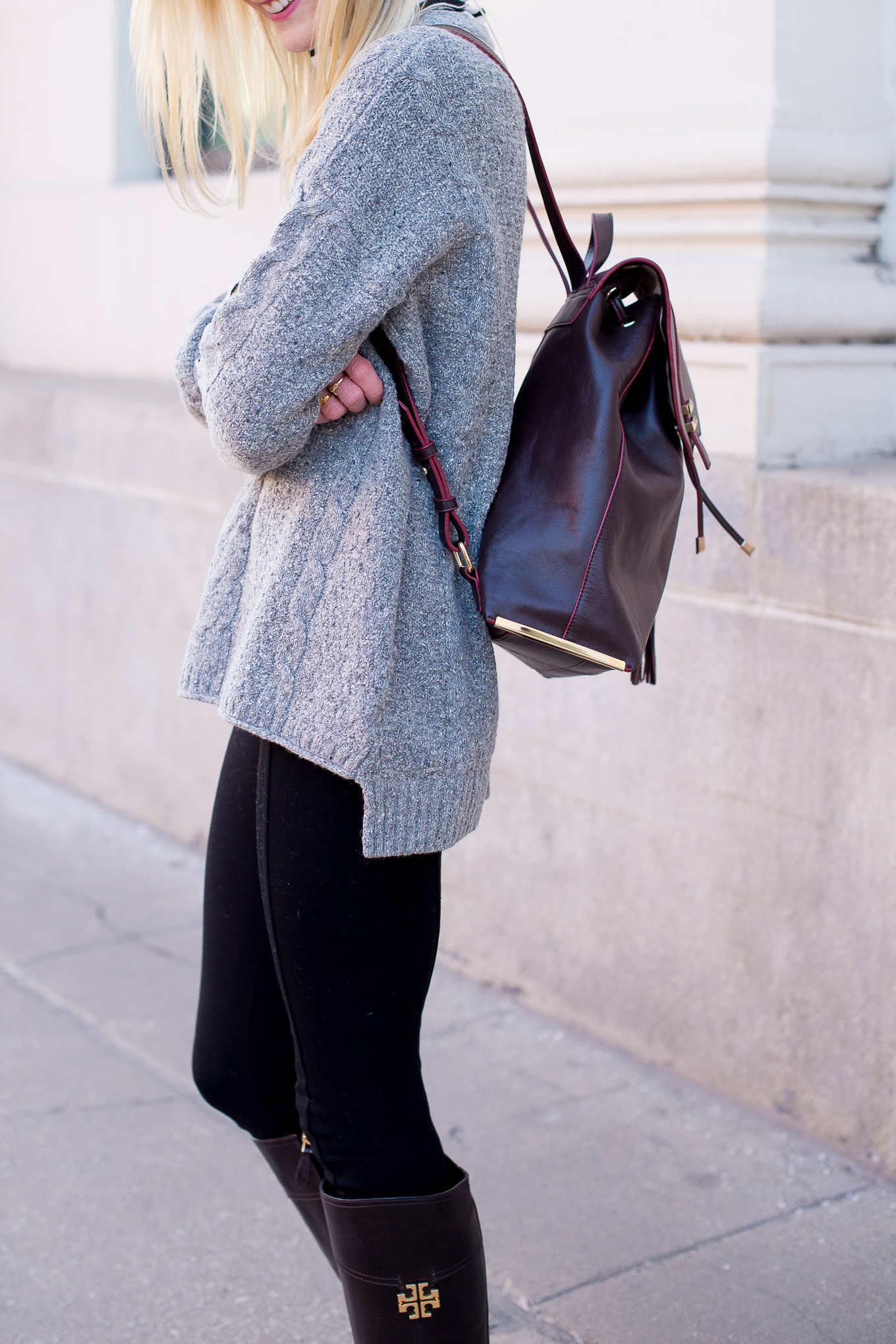 Madewell Cable Knit Sweater-11