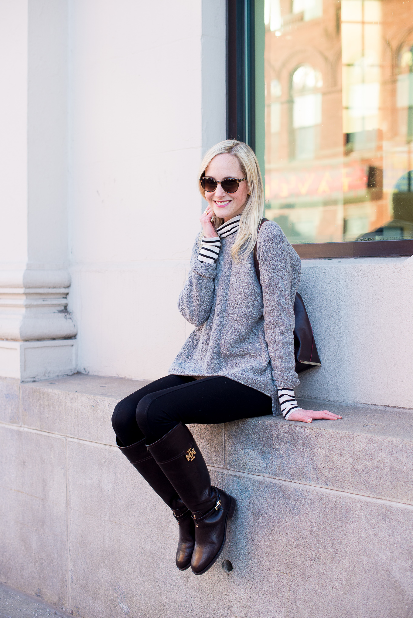 Madewell Cable Knit Sweater-14