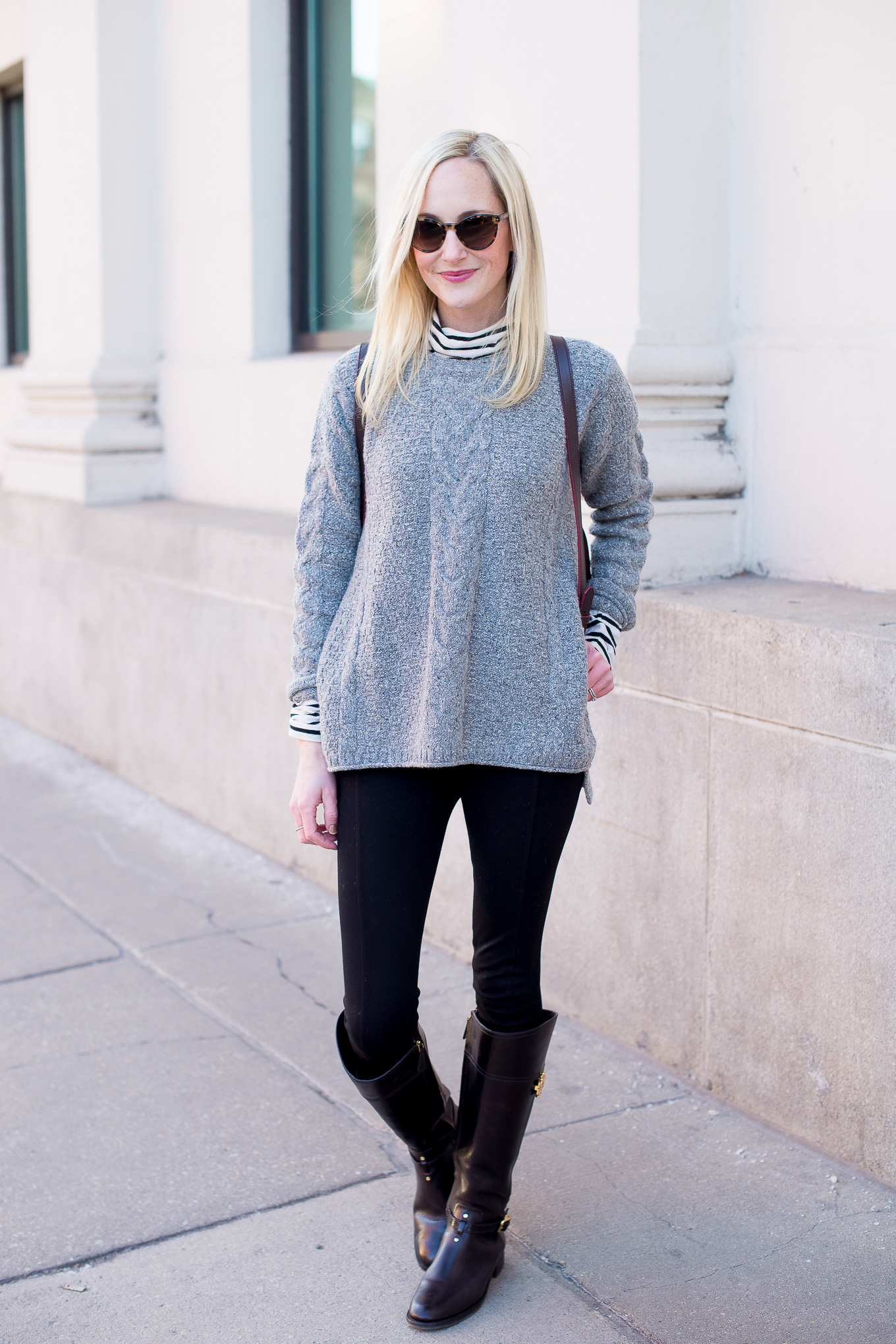 Madewell Cable Knit Sweater-7