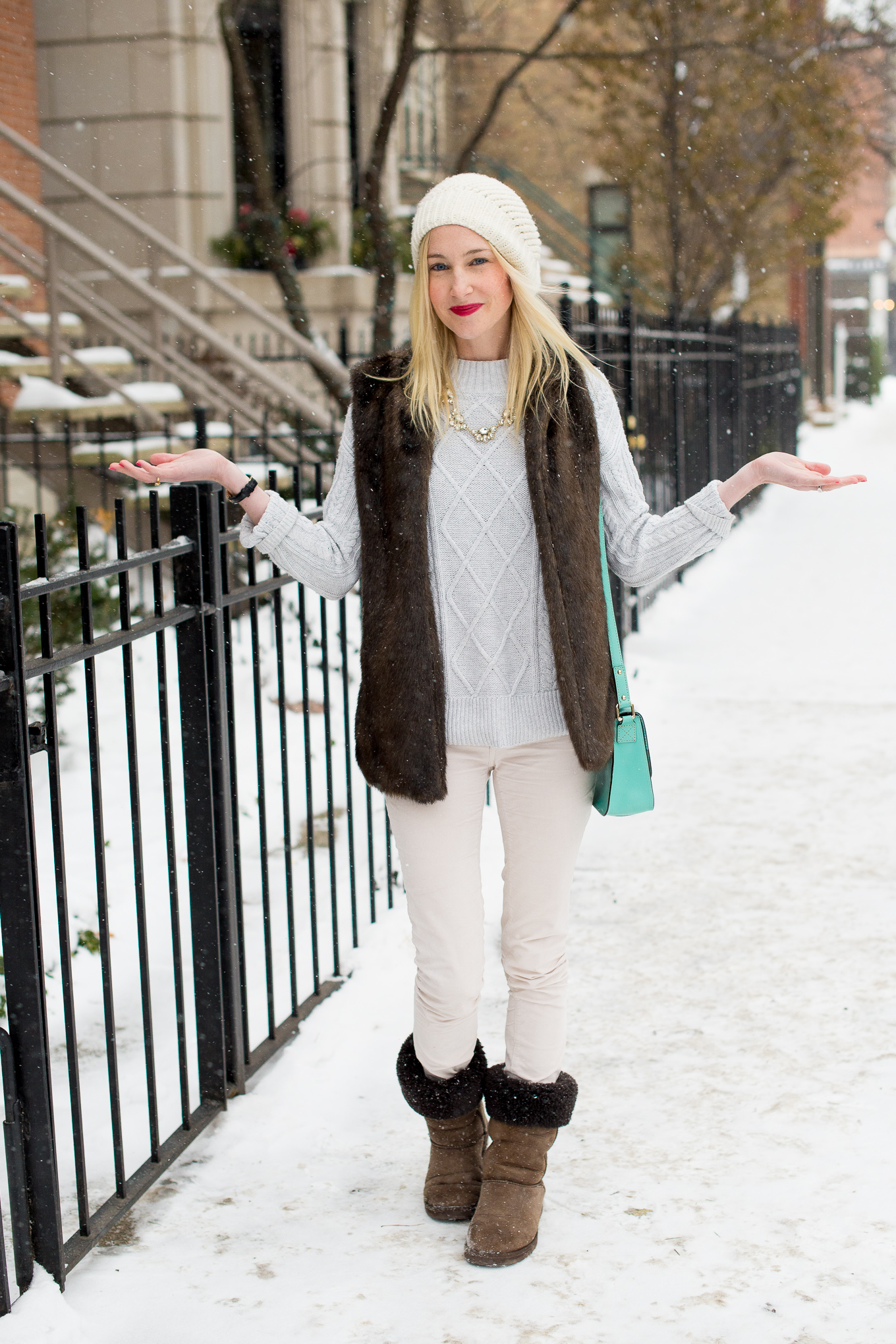 Old Navy Cable Knit Sweater-8