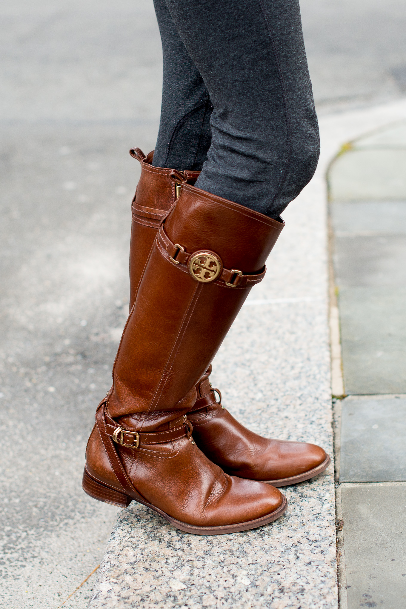 Tory Burch Almond Riding Boots-23