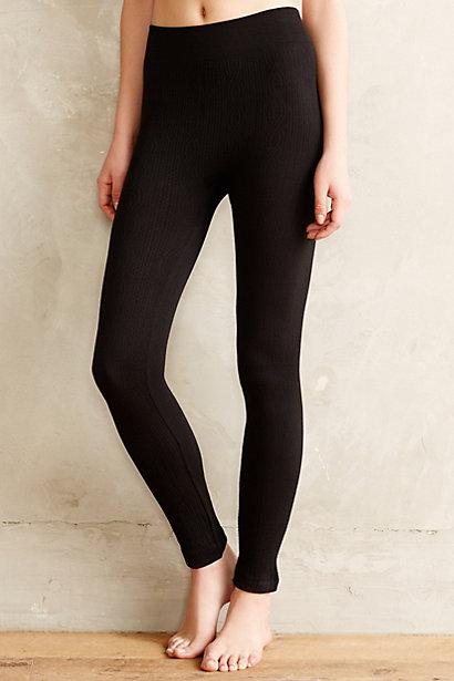 anthropologie fleece lined leggings