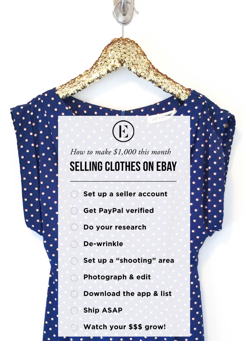 How to sell your clothes on ebay