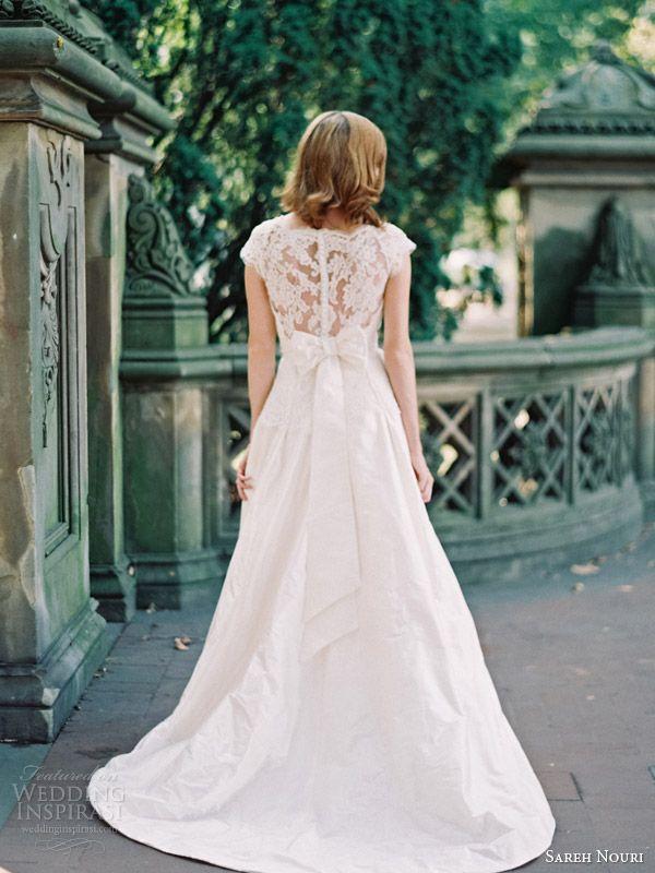Bow Back Wedding Dress 2