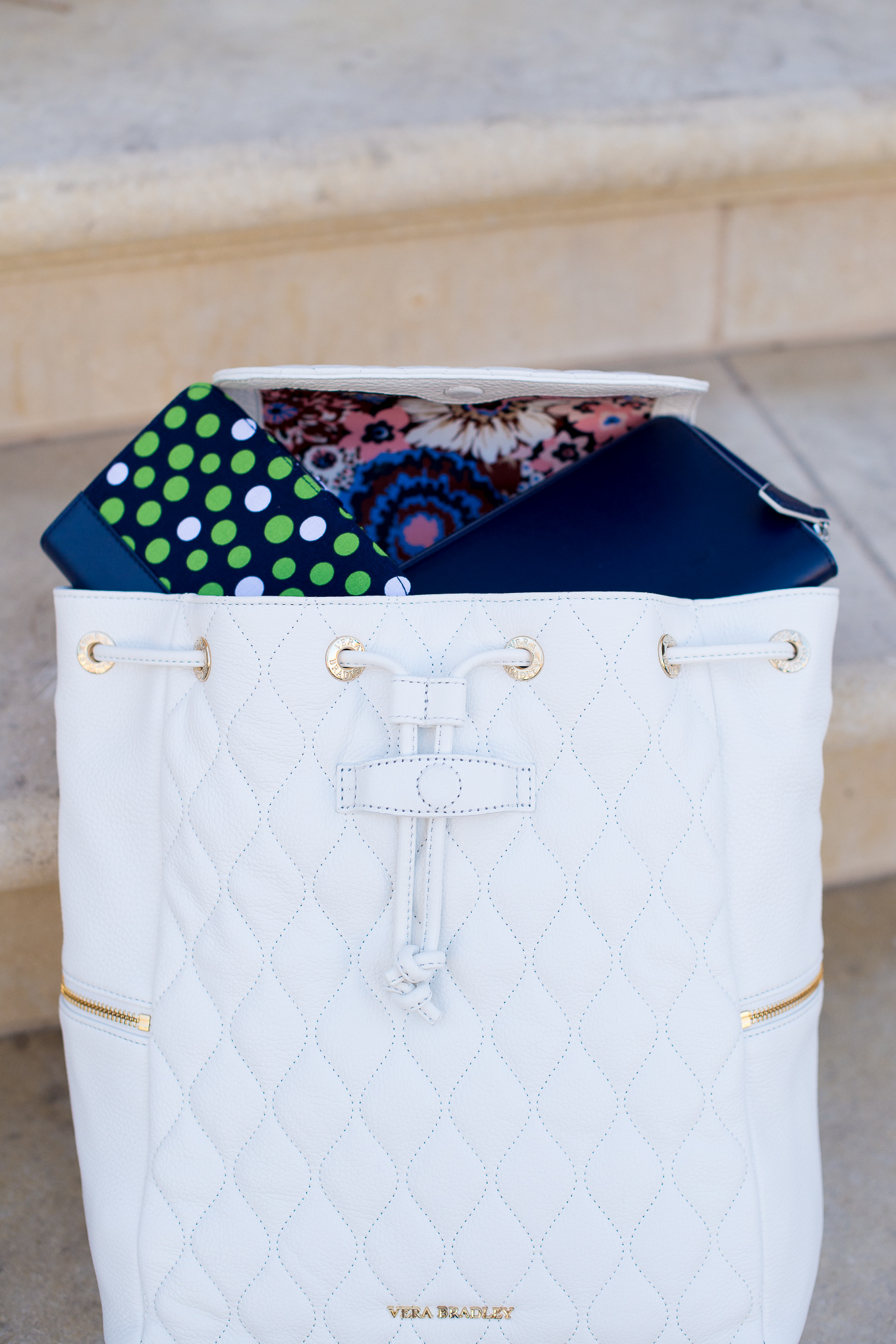 Vera Bradley Quilted Backpack-72