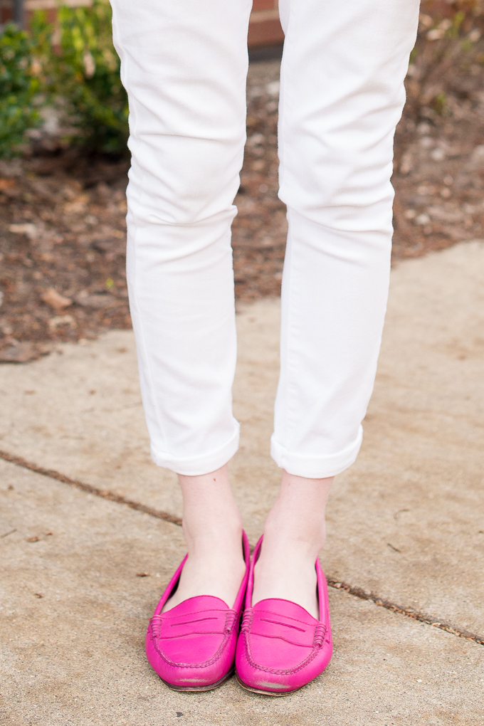 Pink Penny Loafers-12