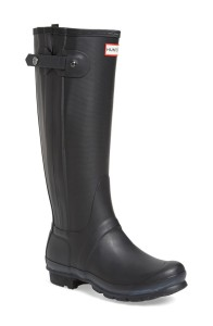 hunter boots zipper