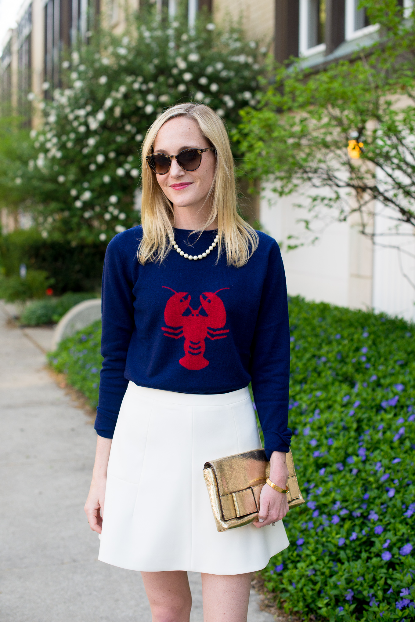 Two Bees Cashmere Lobster Sweater Tuckernuck-12
