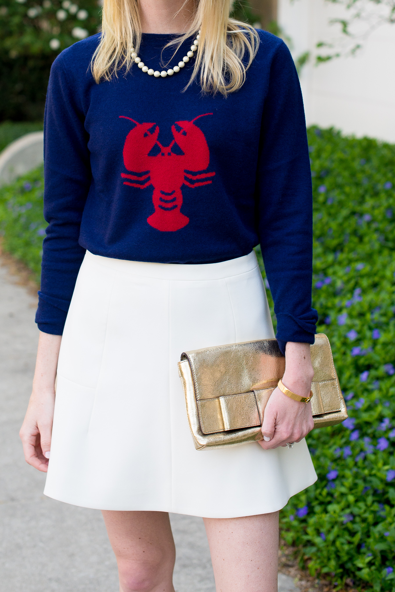 Two Bees Cashmere Lobster Sweater Tuckernuck-13