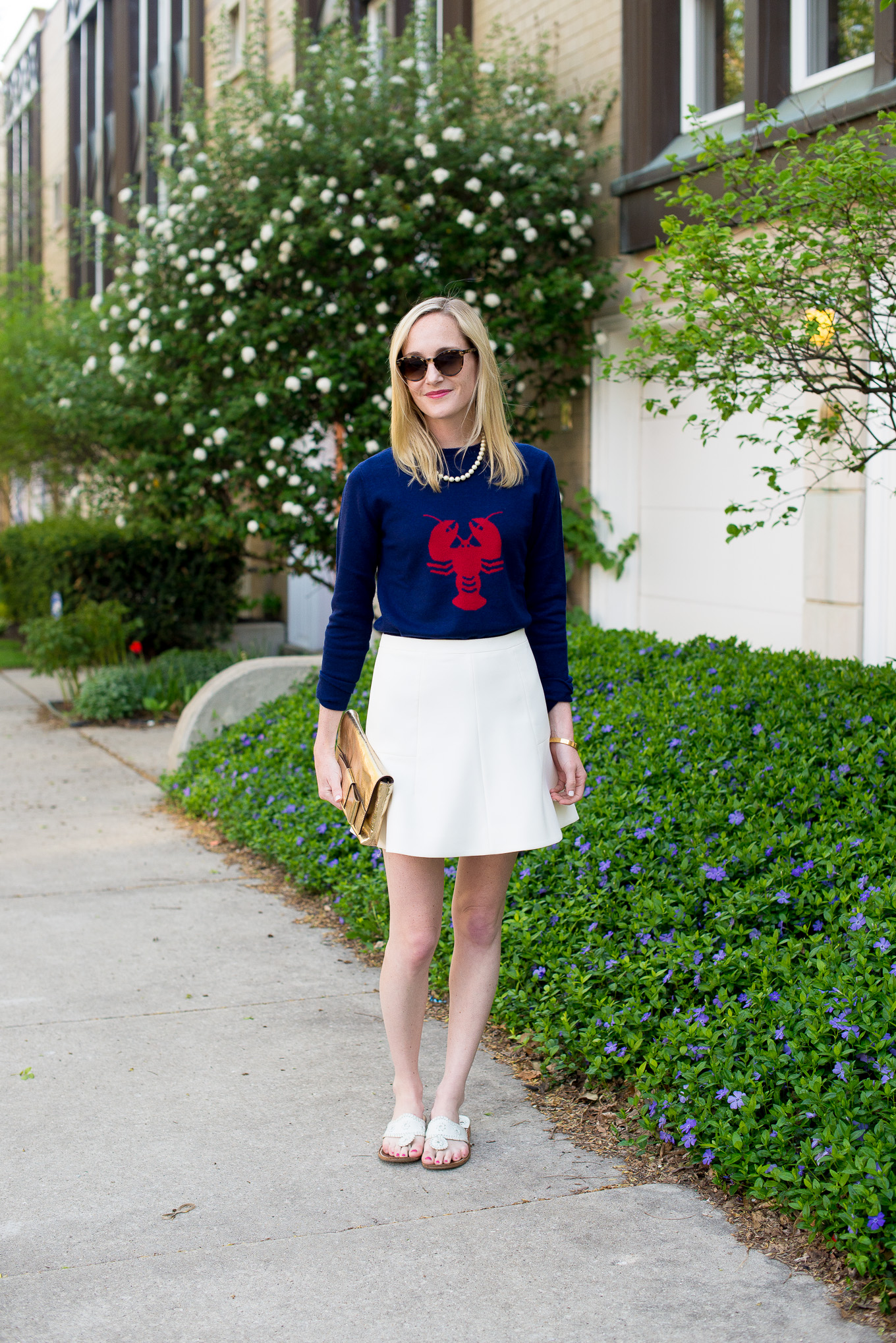 Two Bees Cashmere Lobster Sweater Tuckernuck-6