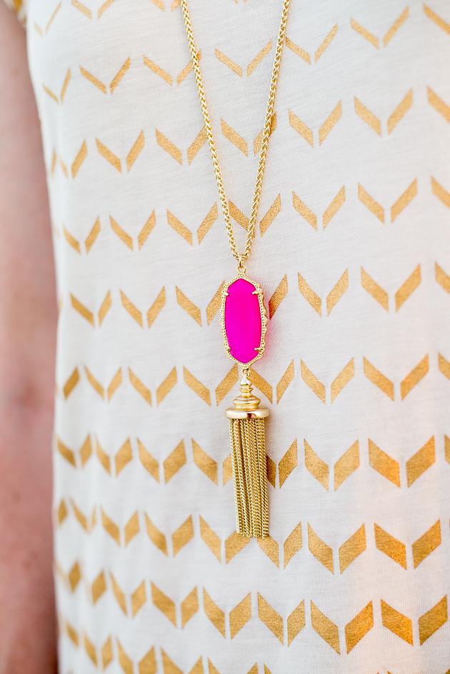 Kendra Scott Pink Necklace-20