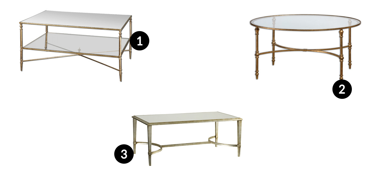 Amazing Gold Coffee Tables Wayfair