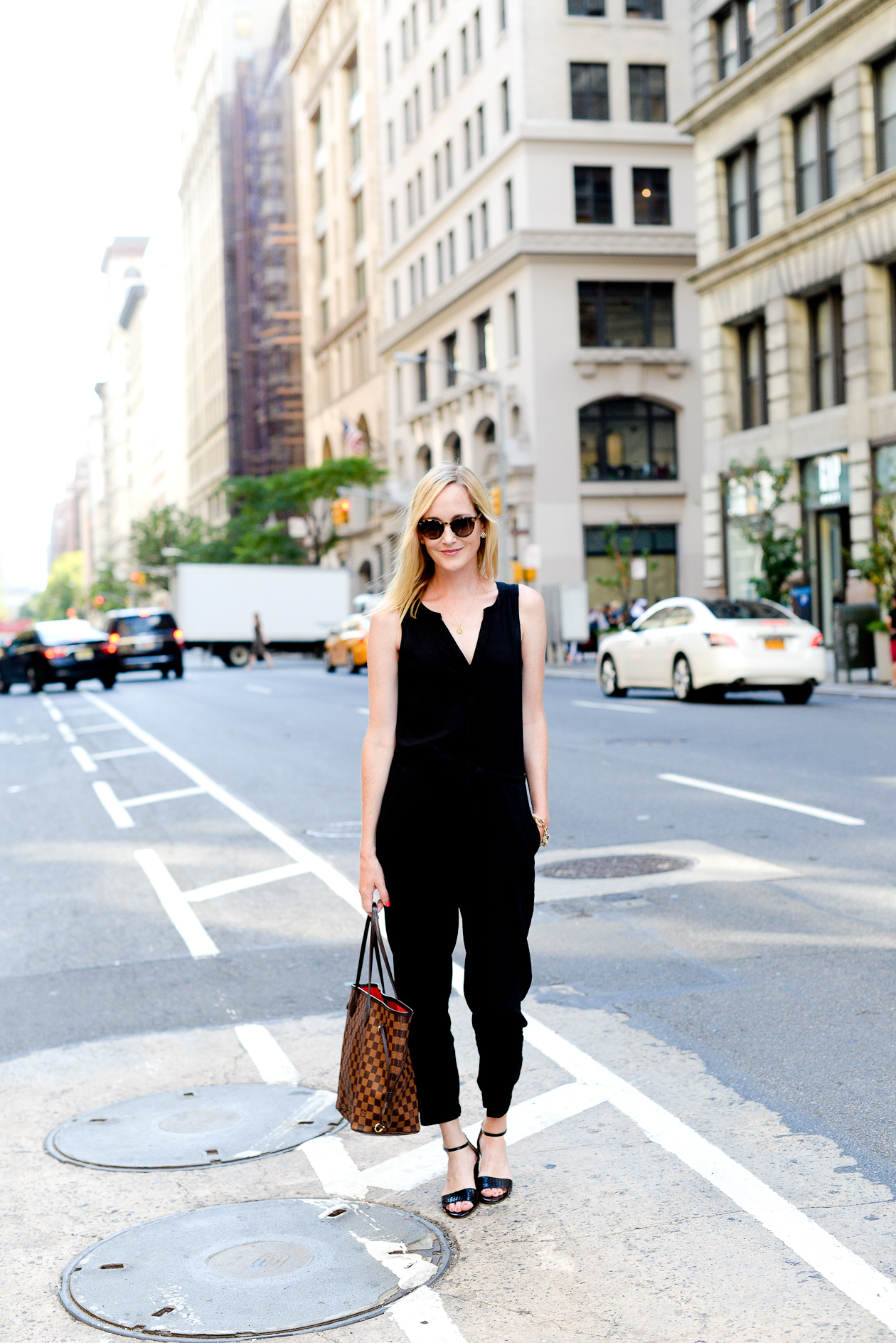 LOFT Black Jumpsuit-12