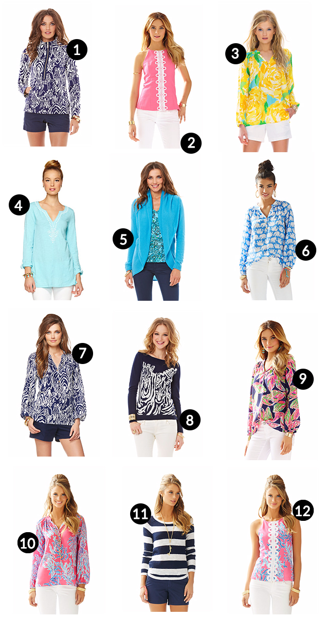 Lilly Pulitzer After Party Sale Shirts